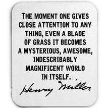 HENRY MILLER - MOUSE MAT/PAD AMAZING DESIGN - $12.36