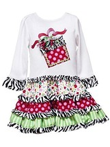 Size 6 M Rre 48861 H White 'Gift Applique' Tiered Mix Print Drop Waist Skirt Sp... - $36.04