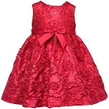 Size-12M RRE-52941H 2-Piece RED SEQUIN SOUTACHE TAFFETA Special Occasion Wedd...