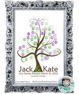 20X24 TREE 105 Wedding Fingerprint Guest Book Tree, Thumbprint Tree Gues... - $59.00