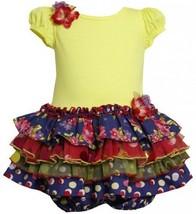 Purple Tiered Mix Print Drop Waist Sparkle Dress PU1TF,Bonnie Jean Baby-Infan...