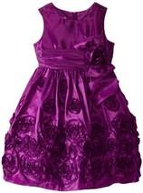 Bonnie Jean Little Girls' Bonaz Bubble Dress, Magenta, 6 [Apparel]