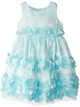 Bonnie Jean Little Girls' Bonaz Party Dress, Mint, 3T [Apparel]