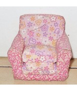 LOVING FAMILY DOLLHOUSE FISHER PRICE FABRIC CLOTH PULL-OUT Chair - $9.50