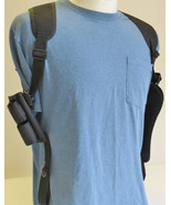 "TAURUS  6"" Revolver 357 & 44 Mag Shoulder Holster with Ammo Pouch - $34.55"