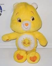 "Care Bears Funshine bear 8"" Plush Stuffed Animal Toy RARE HTF - $9.50"