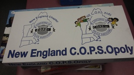 New England C.O.P.S. Opoly Game - $12.00