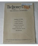 Antique Magazine The Literary Digest Cadillac , Hudson  - $14.99