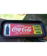 Coca-Cola thirst stop here tray Lot 275 - $30.00