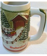 Budweiser Limited Edition Clydesdale Christmas Stein by Ceremart - $22.00
