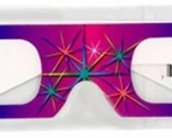 3D July Fourth Fireworks Glasses w Rainbow Frames Pattern Diffraction Lenses- Pa