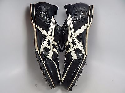 Asics Hyper MD Men's Track Shoes Size US 13 M (D) EU 48 Black White