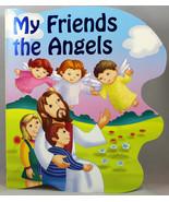 My Friends the Angels Boardbook Kids St. Joseph Sparkle Books Ages 2-5 C... - $7.72