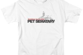 Pet Sematary Graphic T-shirt Retro 80's Horror Stephen king PAR293 image 3