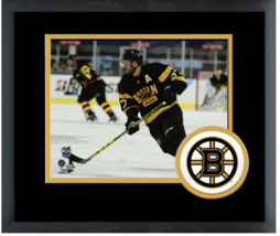 Patrice Bergeron 2016 NHL Winter Classic - 11x14 Team Logo Matted/Framed Photo - $43.55