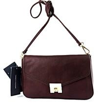 Tommy Hilfiger Postino Casual Leather Crossbody Clutch - $54.00