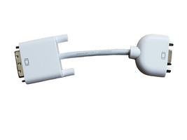 NEW • Genuine Apple DVI to VGA Display Adapter • Convert Video Connections - $29.95