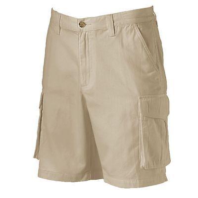 Mens Croft /& Barrow Cargo Shorts NEW Size 46 Tan Big /& Tall