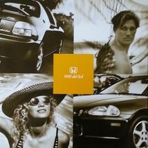 1995 Honda Del Sol Brochure Catalog Us 95 Crx Si Vtec - $10.00