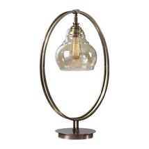 Uttermost Elliptical Brass Edison Bulb Lamp - $253.00