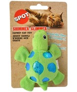 SPOT SHIMMER GLIMMER OR FELT CATNIP TOYS PLAY TURTLE BUTTERFLY FISH MOUSE - £11.50 GBP