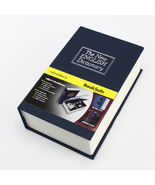 New Metal Dictionary Book Cash Jewelry Homesafe Home Security Key lock B... - $15.95