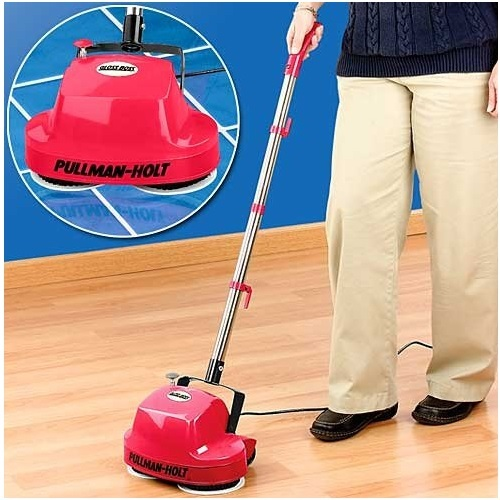 Mini floor cleaner scrubber polish carpet shampoo rugged for Concrete floor scrubber