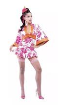 Women's Sexy Halloween Costume Geisha Kimono Asian style Dress up Sz M (... - $27.71