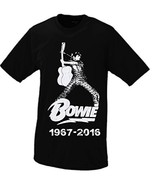 David Bowie RIP #2 T-shirt Large Black [Apparel] - $16.95