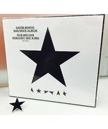David Bowie Blackstar Cd Deluxe MSD German Issu... - $55.00