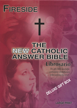 The NEW Catholic Answer Bible Librosario NABRE (Black) LARGE PRINT by Fireside image 4