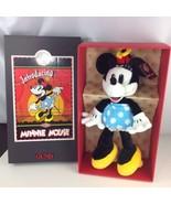90s Disney Gund Antique Minnie Mouse Plush Stuffed Animal Mickey & Co Ju... - $138.60