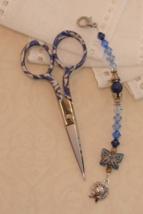 Criss Gingher Long Scissor Fob cross stitch needlework My Big Toe Designs - $18.00