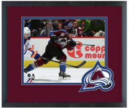 Gabriel Landeskog 2015-16 Colorado Avalache- 11x14 Team Logo Matted/Framed Photo - $42.95