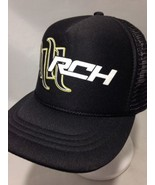 Otto Fox Racing RCH Hat Black/White/Green Youth Size - $20.56