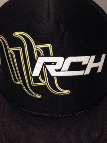 Otto Fox Racing RCH Hat Black/White/Green Youth Size