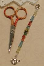 Bianca Gingher Long Scissor Fob cross stitch needlework My Big Toe Designs - $18.00