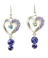 Violet heart thumbtall