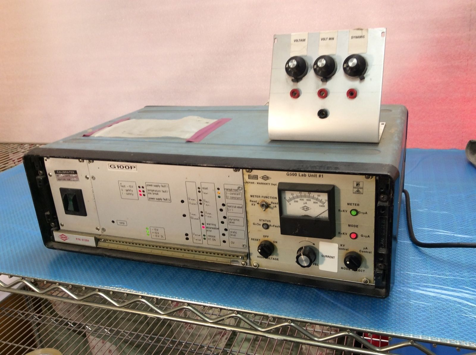 UNIT DC POWER SUPPLY TEMP CONTROLLER RARE WORKS $999 Power Supply #214566