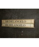 THE COMPLETE WORKS OF MICHELANGELO 1966 V 1 & 2 Boxed Set Macdonald - $79.99