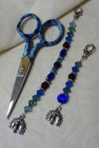 Alicia Gingher Mini Scissor Fob cross stitch needlework My Big Toe Design - $10.00
