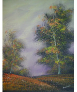 Original 24x36 Tree Canvas Art Reproduction - $219.00