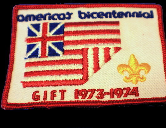 1973-1974 America's Bicentennial Boy Scouts Patch