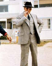 Telly Savalas Kojak Smoking On Tv Set 16x20 Canvas Giclee - $69.99