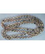 Lovely Long Vintage Aurora Borealis Crystal Bea... - $50.00