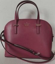 New Kate Spade new York Carli Patterson Drive Pebble Leather handbag Cinnabar - $134.15