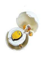 Sanrio Gudetama Stereo Earphones In Egg Shaped Case For Music Player Japan Only - $53.46