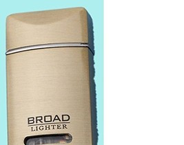 Rectangle Lighter Copper Refillable Butane Cigarette Flame Windproof for Broa...