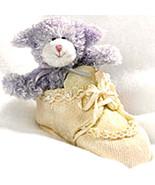 "Boyds Bears-Bear Foot Friends ""Fleecie..Pearls & Lace""- #641016RSN-BBC E... - $22.99"