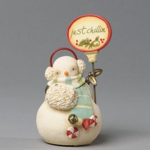 Heart Of Christmas Just Chillin Mini Snowman Figurine [Kitchen]